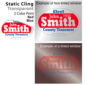 Campaign on Static Cling from RunandWin.com
